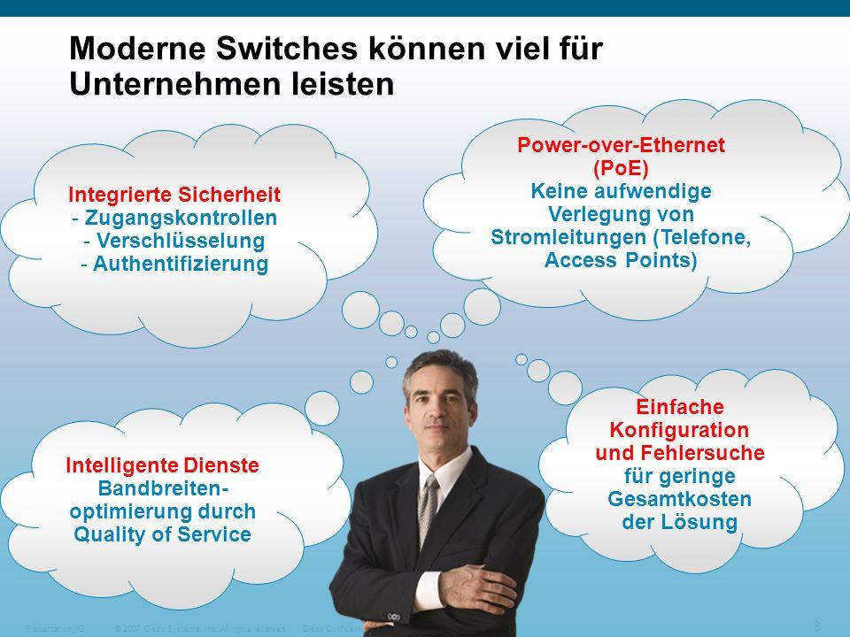 Moderne Switches können viel für Unternehmen leisten