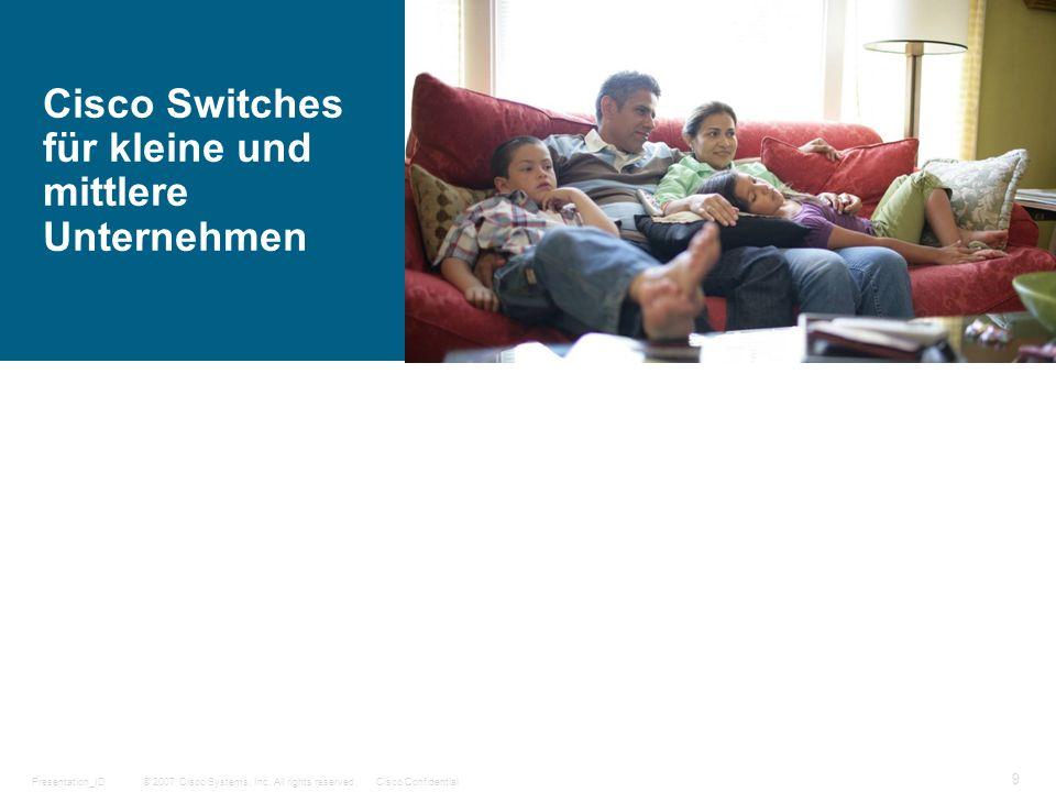Cisco Switches für kleine und mittlere Unternehmen