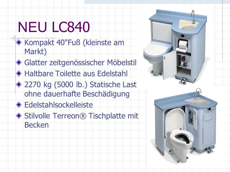 NEU LC840 Kompakt 40 Fuß (kleinste am Markt)