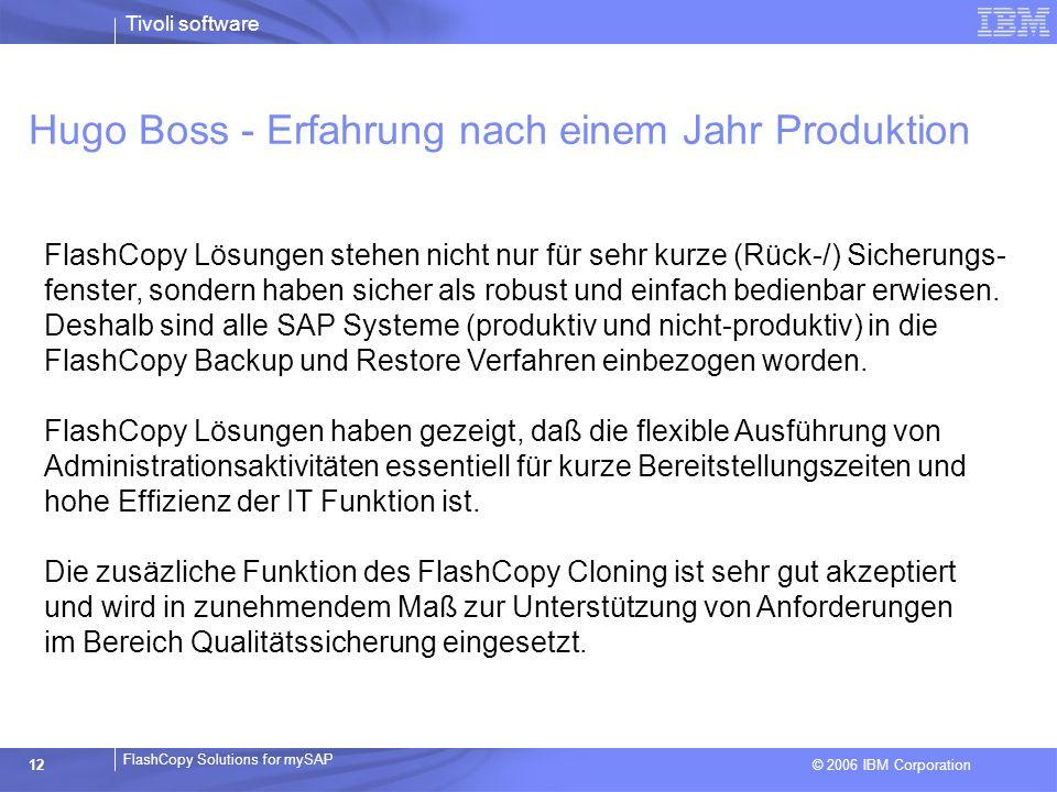 Hugo Boss - Erfahrung nach einem Jahr Produktion