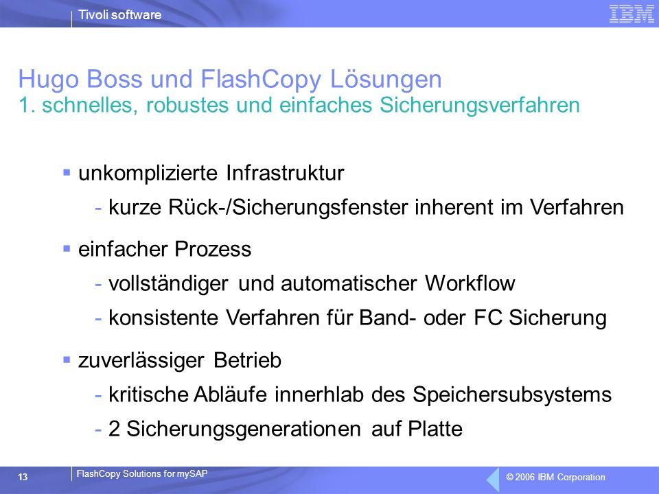 Hugo Boss und FlashCopy Lösungen 1