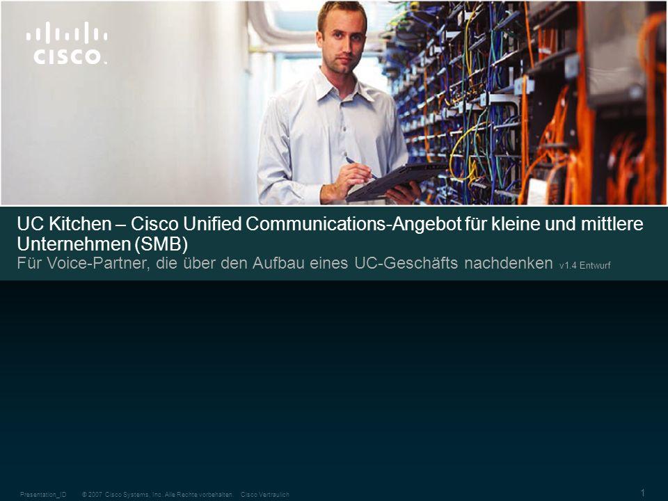 UC Kitchen – Cisco Unified Communications-Angebot für kleine und mittlere Unternehmen (SMB)
