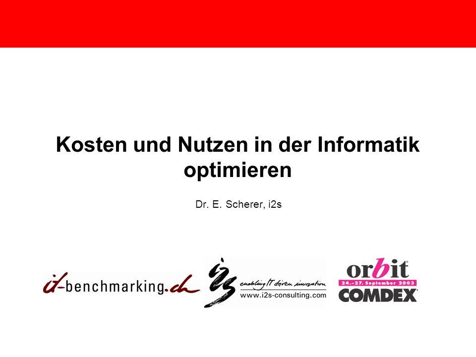 Kosten und Nutzen in der Informatik optimieren
