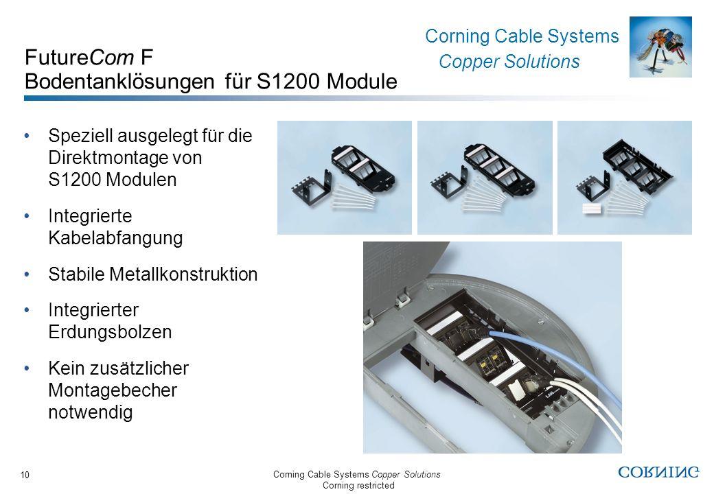 FutureCom F Bodentanklösungen für S1200 Module