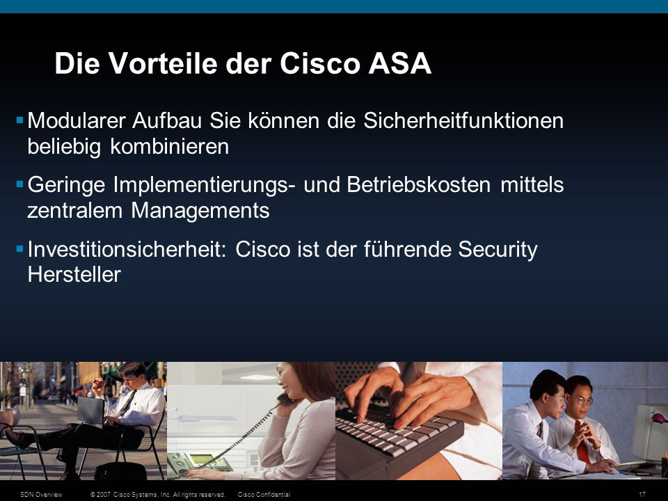 Die Vorteile der Cisco ASA