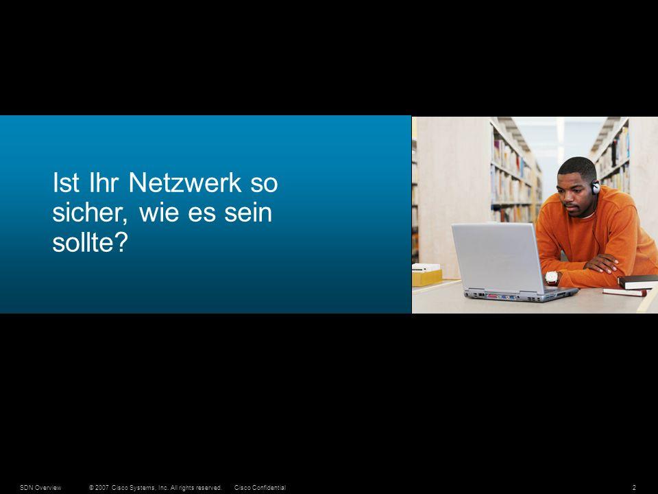 Ist Ihr Netzwerk so sicher, wie es sein sollte