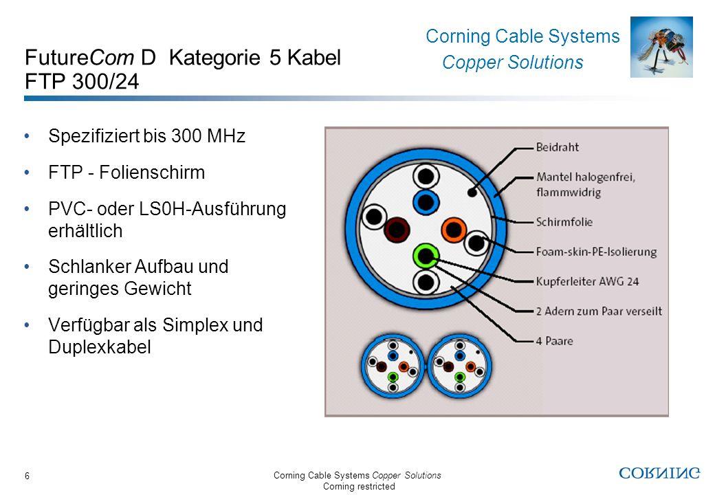 FutureCom D Kategorie 5 Kabel FTP 300/24