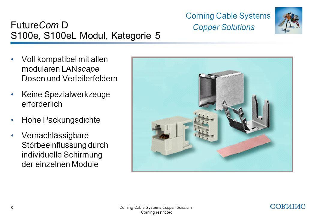 FutureCom D S100e, S100eL Modul, Kategorie 5