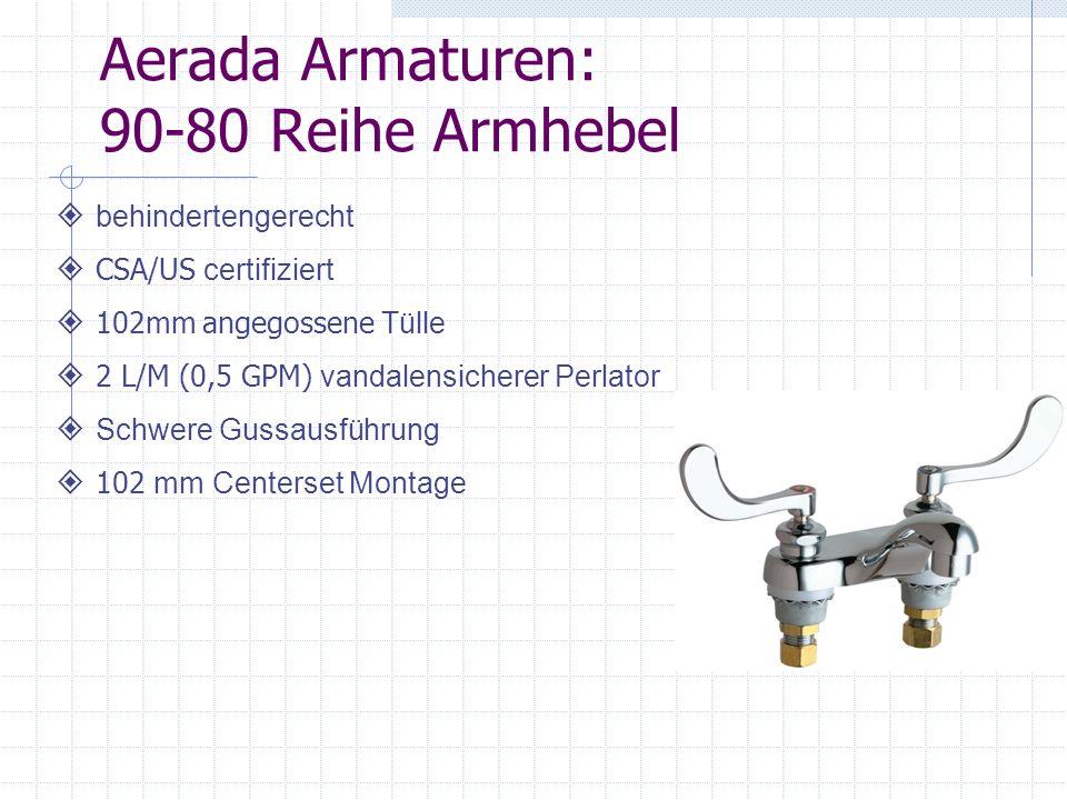 Aerada Armaturen: 90-80 Reihe Armhebel