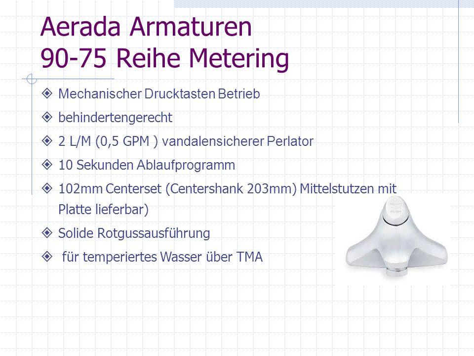 Aerada Armaturen 90-75 Reihe Metering