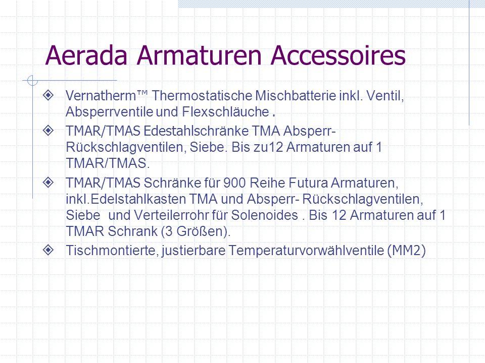 Aerada Armaturen Accessoires