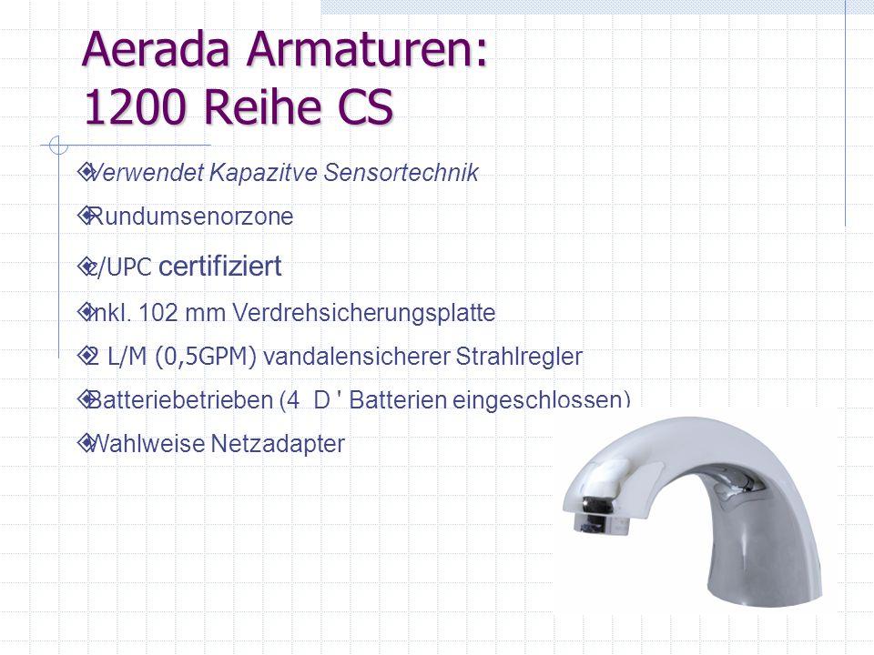 Aerada Armaturen: 1200 Reihe CS