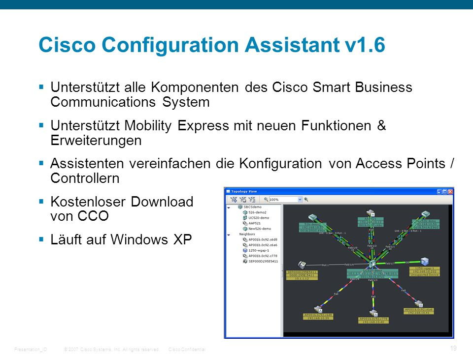 Cisco Configuration Assistant v1.6