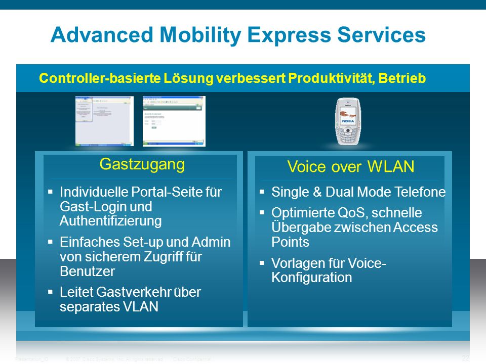 Advanced Mobility Express Services