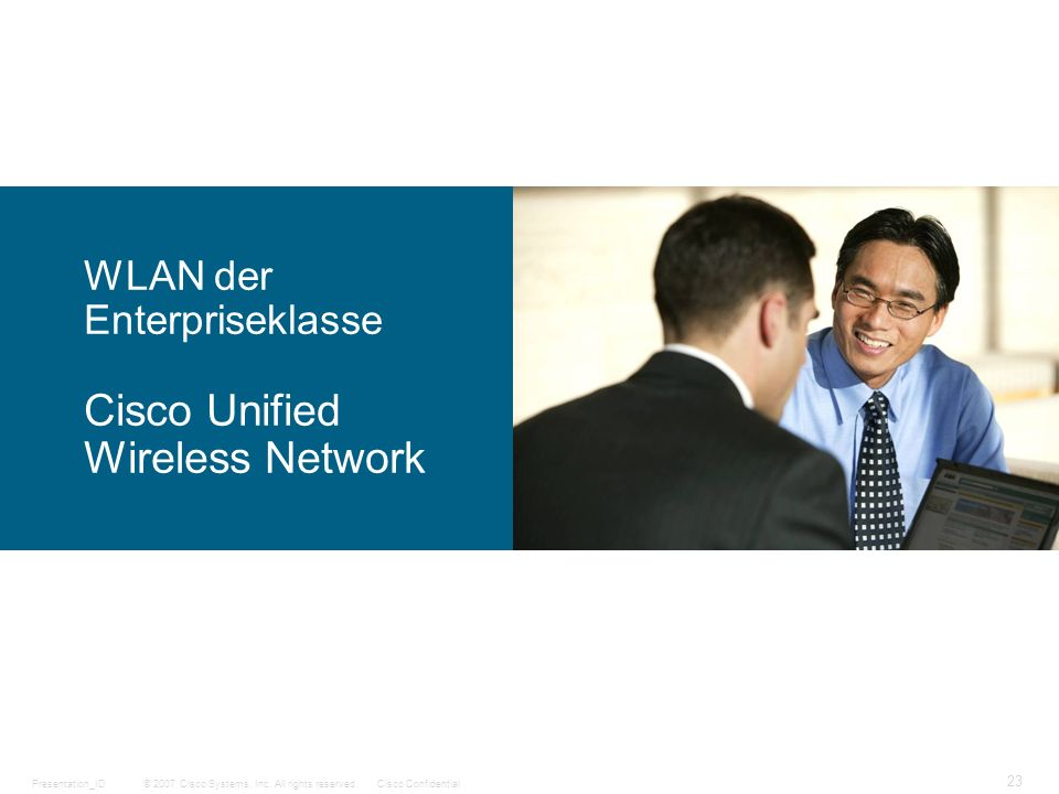 WLAN der Enterpriseklasse Cisco Unified Wireless Network