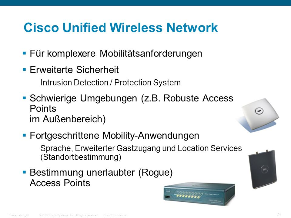 Cisco Unified Wireless Network