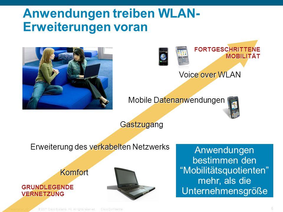 Anwendungen treiben WLAN-Erweiterungen voran