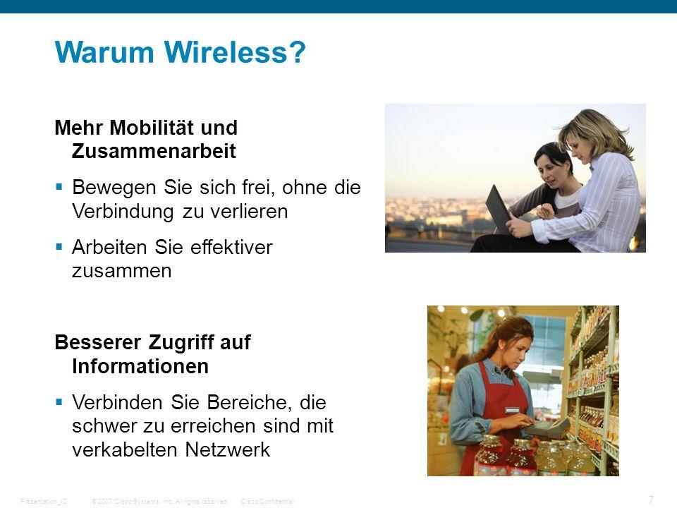 Warum Wireless Mehr Mobilität und Zusammenarbeit