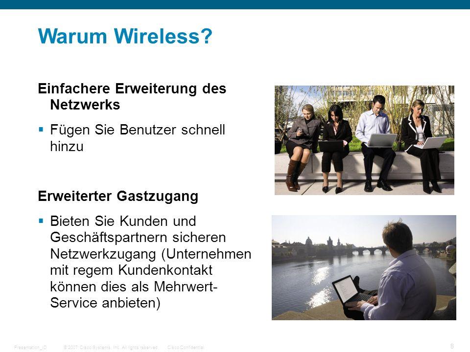 Warum Wireless Einfachere Erweiterung des Netzwerks