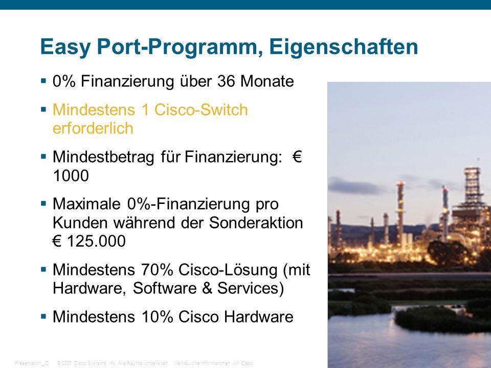 Easy Port-Programm, Eigenschaften