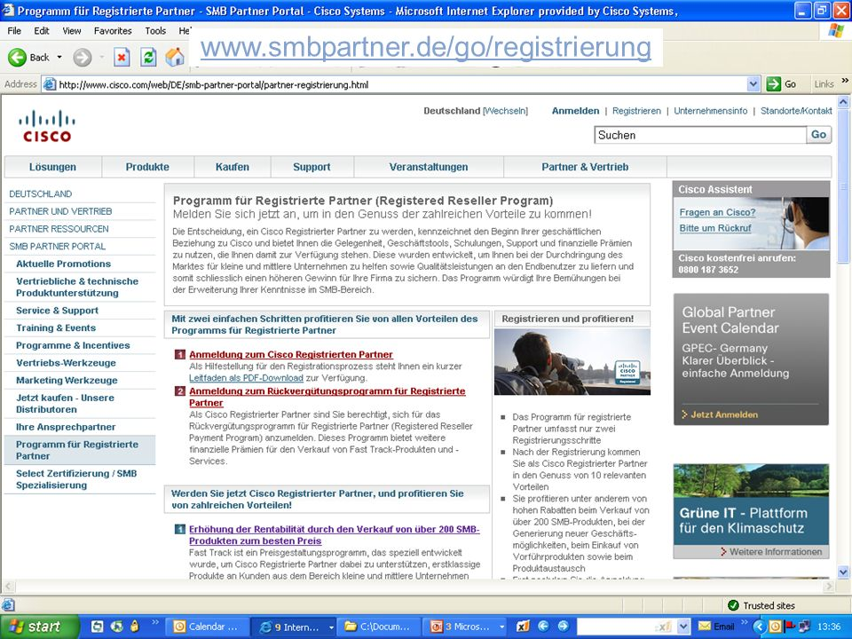 www.smbpartner.de/go/registrierung
