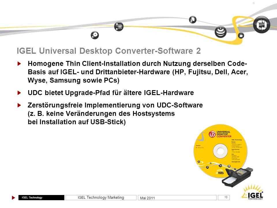 IGEL Universal Desktop Converter-Software 2