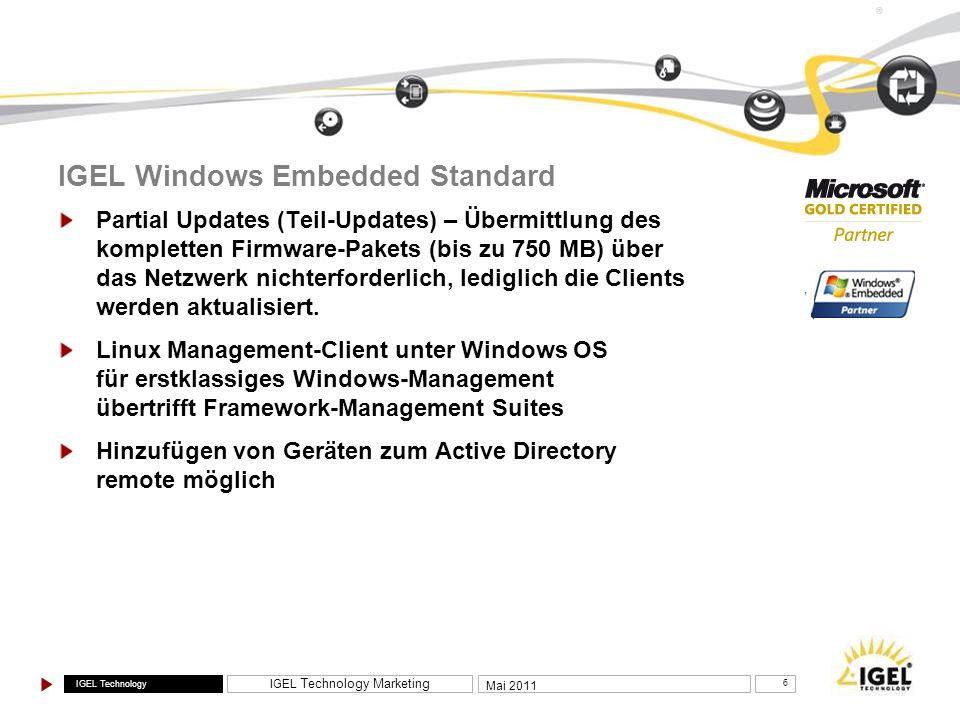IGEL Windows Embedded Standard