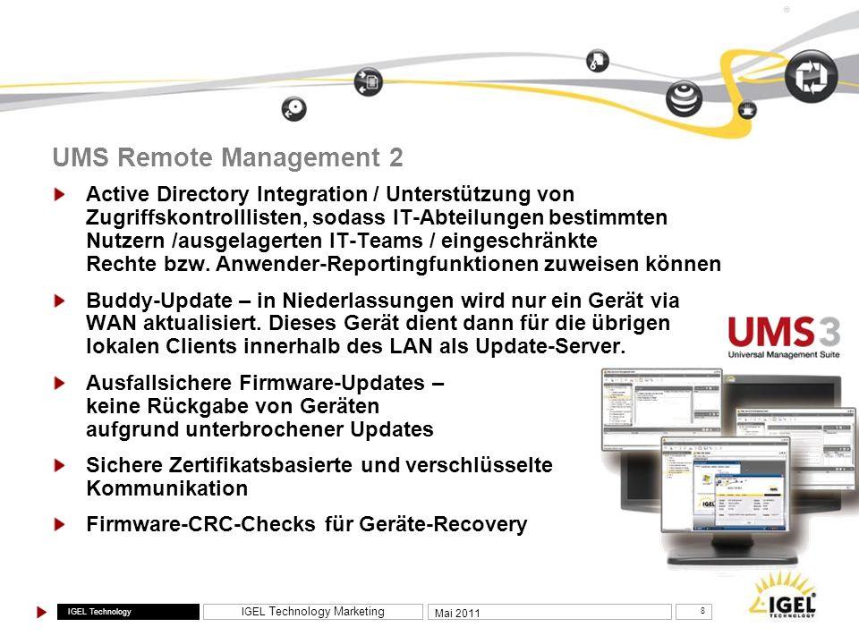 UMS Remote Management 2
