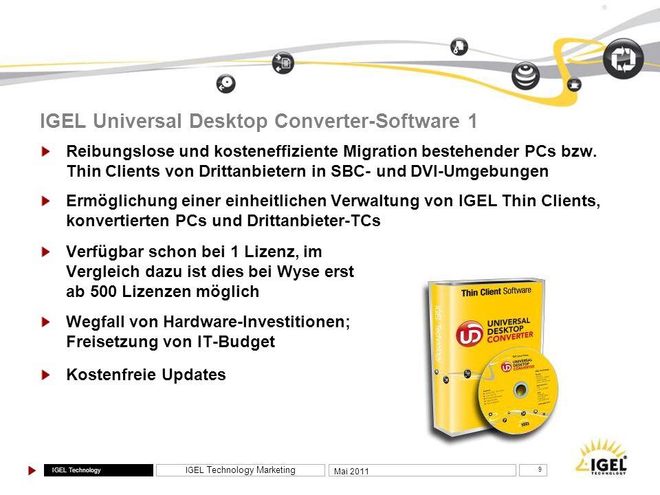 IGEL Universal Desktop Converter-Software 1