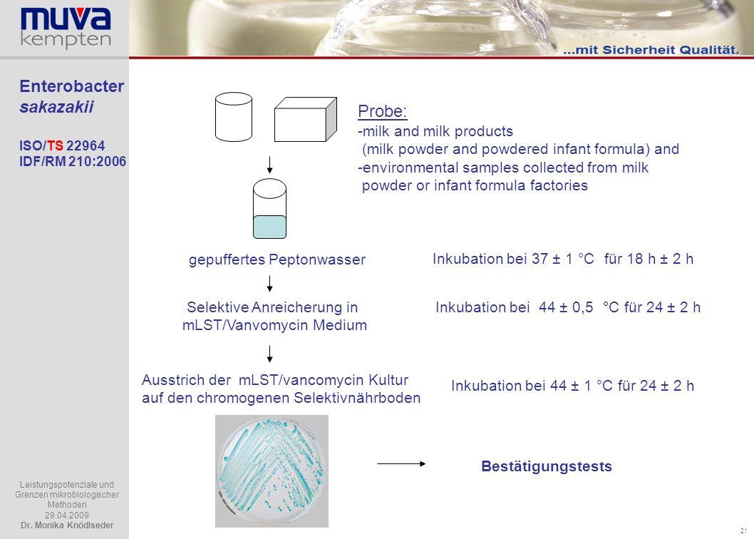 Enterobacter sakazakii ISO/TS 22964 IDF/RM 210:2006