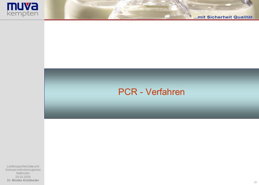 PCR - Verfahren