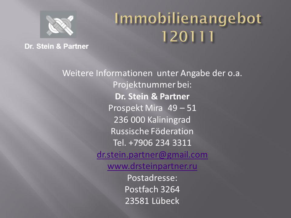 Weitere Informationen unter Angabe der o.a. Projektnummer bei: