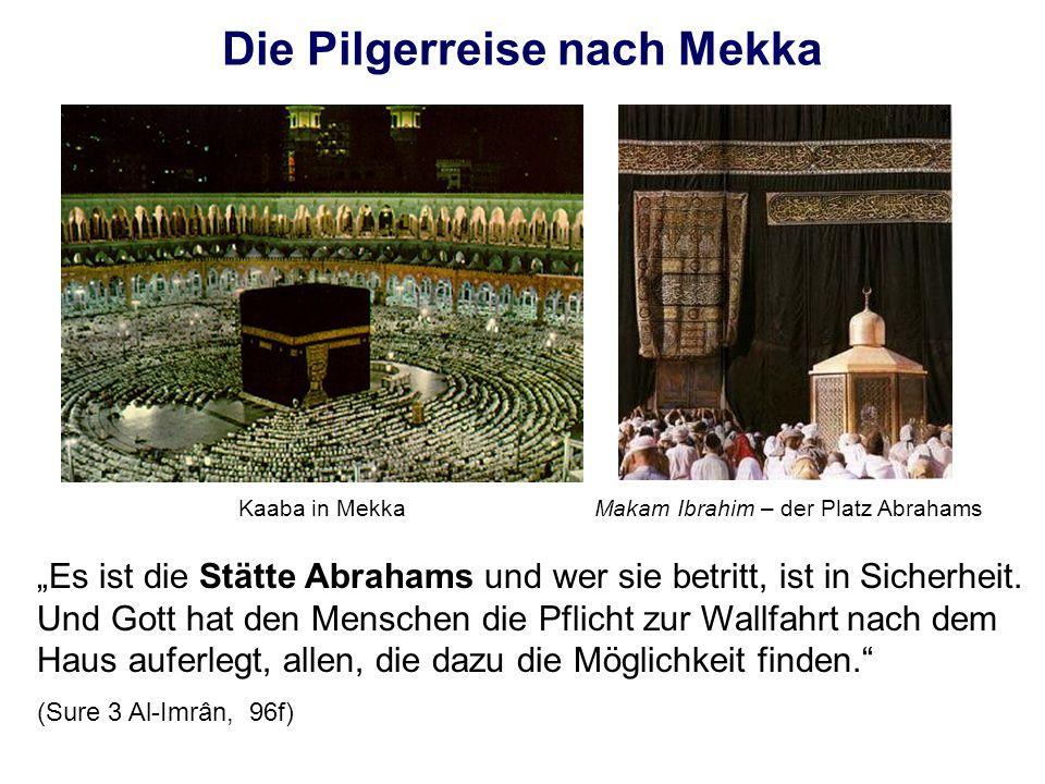 Die Pilgerreise nach Mekka