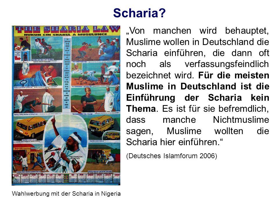 Wahlwerbung mit der Scharia in Nigeria