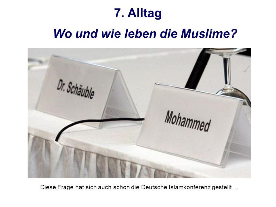 Wo und wie leben die Muslime