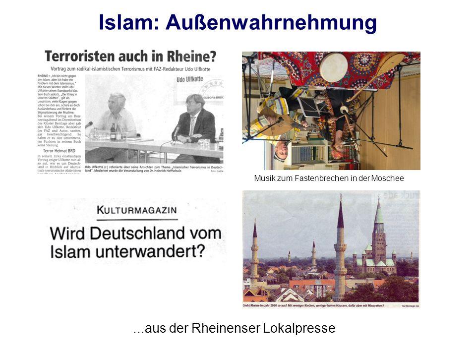 Islam: Außenwahrnehmung