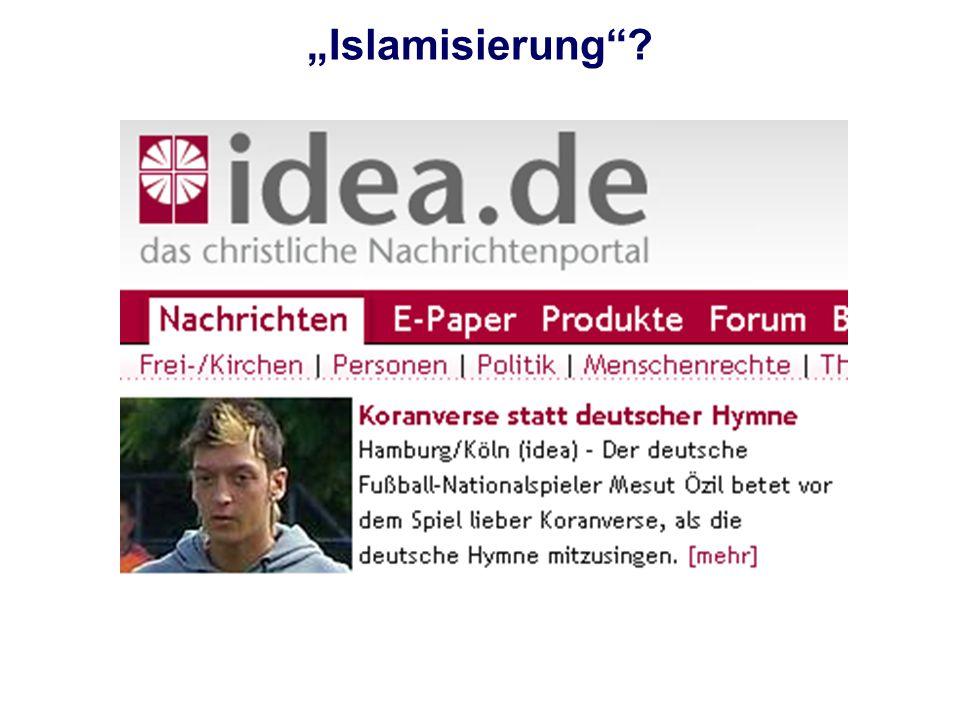 """Islamisierung"