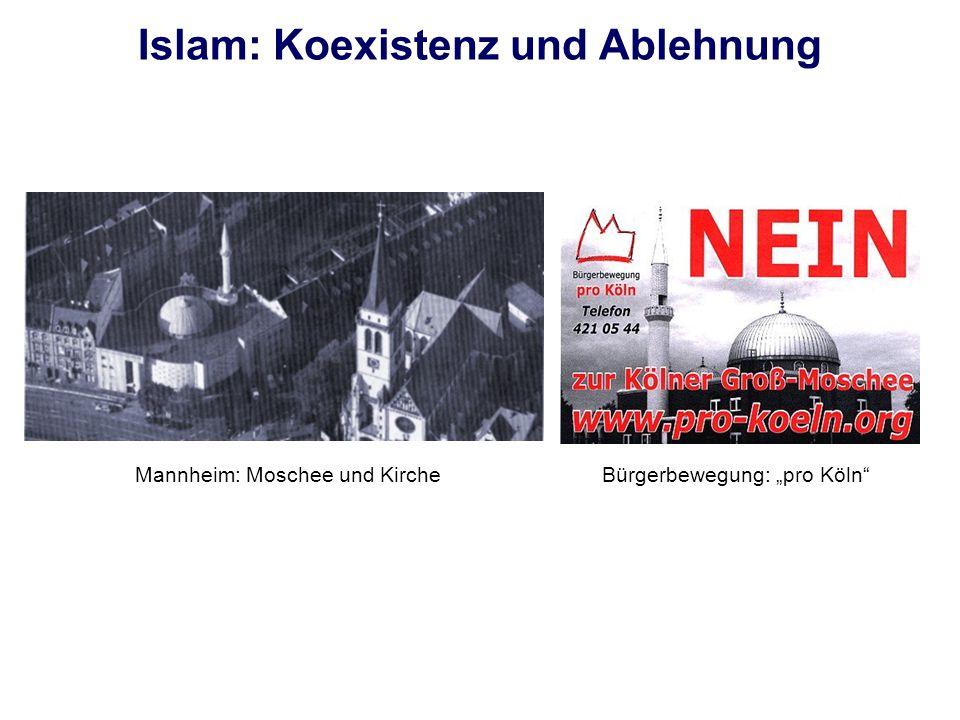 Islam: Koexistenz und Ablehnung