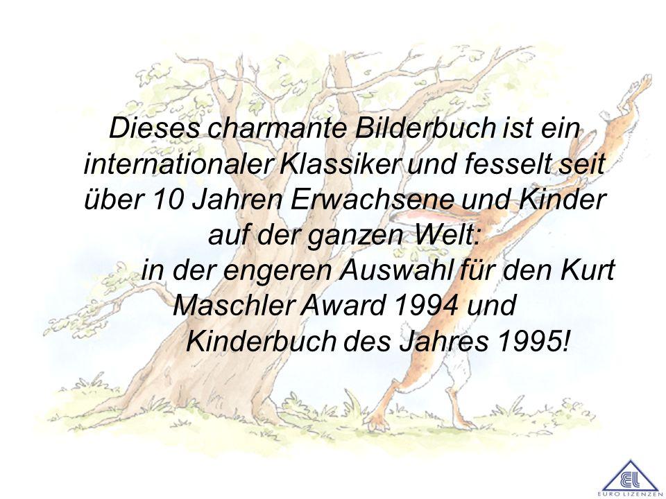 Dieses charmante Bilderbuch ist ein internationaler Klassiker und fesselt seit über 10 Jahren Erwachsene und Kinder auf der ganzen Welt: in der engeren Auswahl für den Kurt Maschler Award 1994 und Kinderbuch des Jahres 1995!