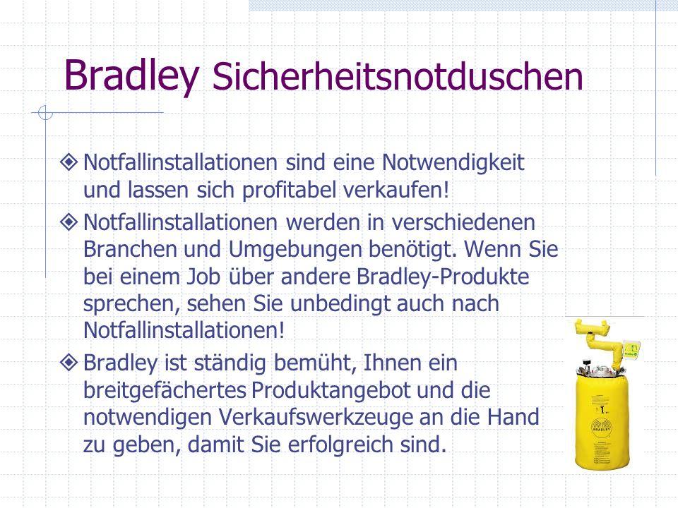 Bradley Sicherheitsnotduschen