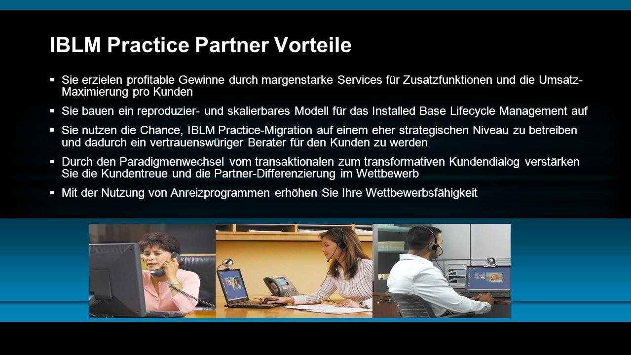 IBLM Practice Partner Vorteile