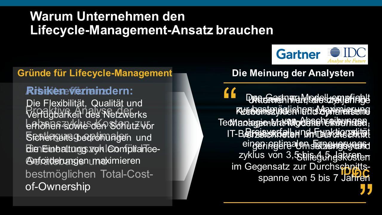 Warum Unternehmen den Lifecycle-Management-Ansatz brauchen