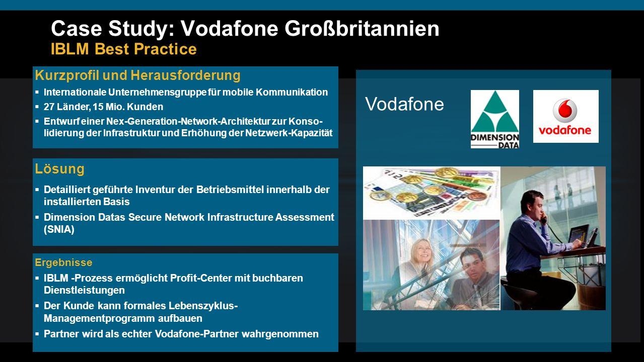 Case Study: Vodafone Großbritannien IBLM Best Practice
