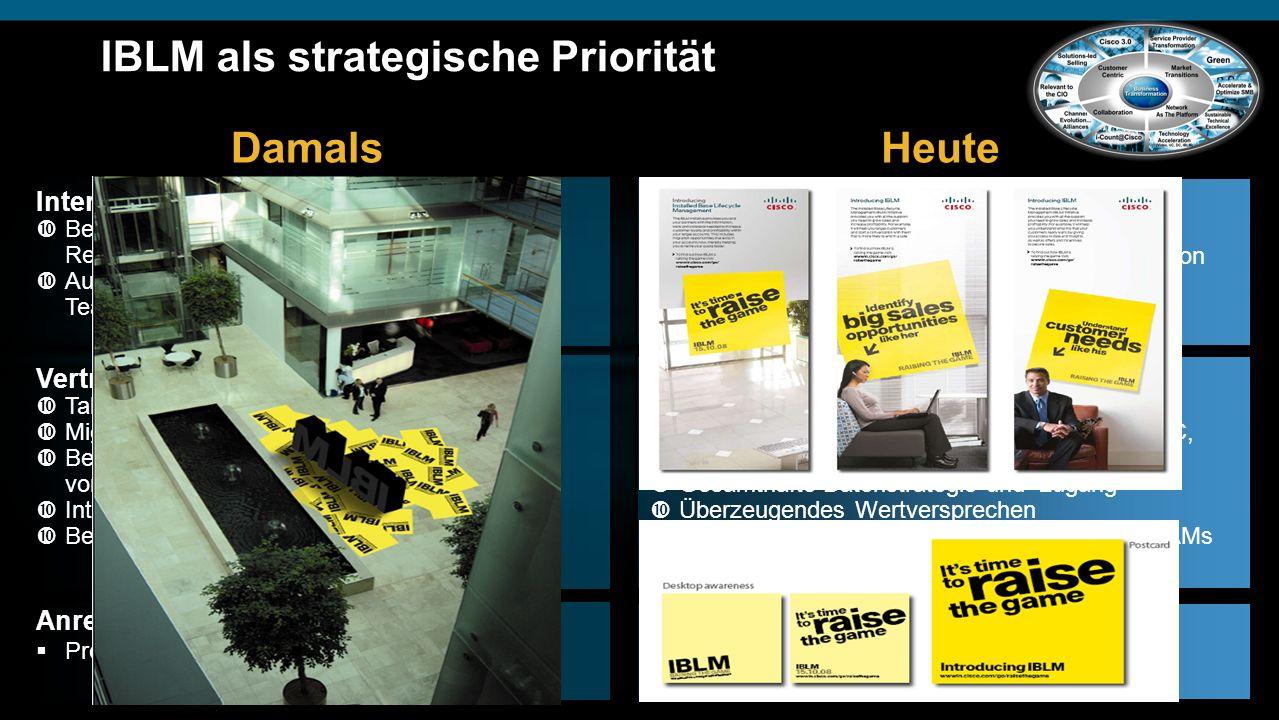 IBLM als strategische Priorität