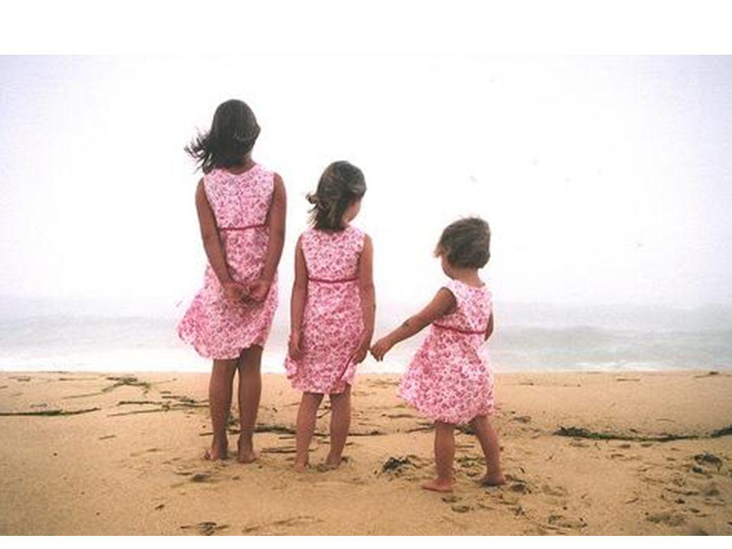 Manche Mädchen haben 2 Schwestern.