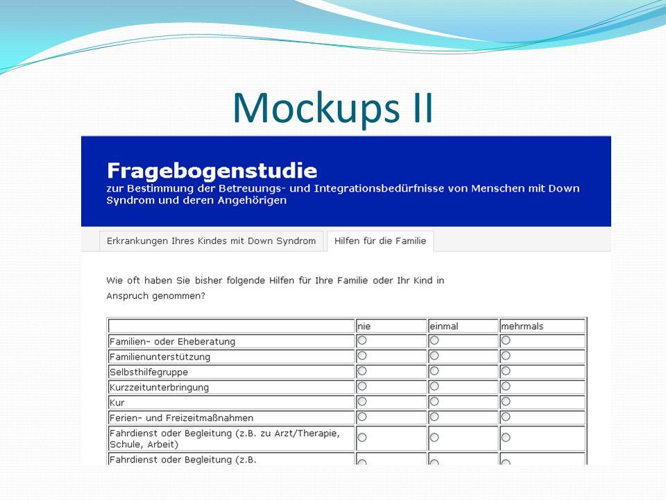 Mockups II