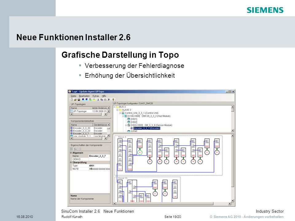Neue Funktionen Installer 2.6