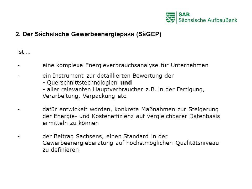 2. Der Sächsische Gewerbeenergiepass (SäGEP)