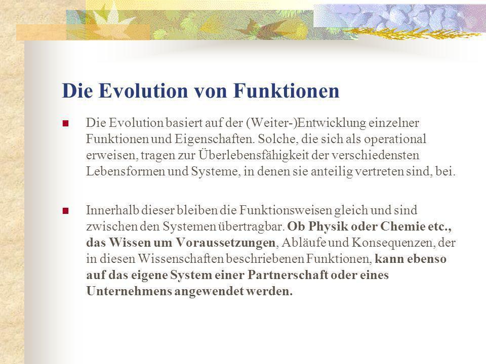 Die Evolution von Funktionen
