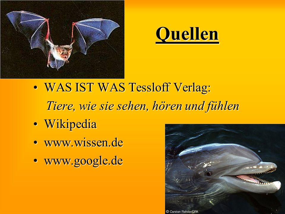 Quellen WAS IST WAS Tessloff Verlag:
